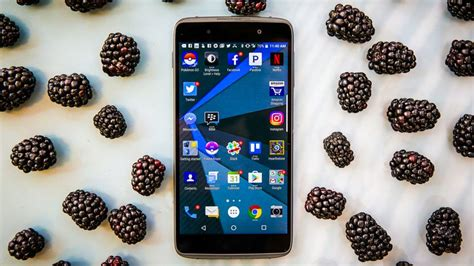 An Android Phone With A