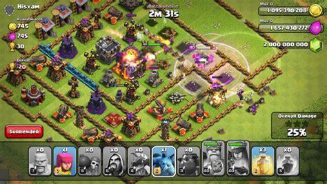 clash of clans 7 65 5 mod apk tutto illimitato flamewall