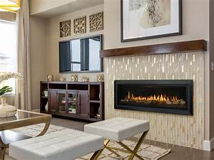 Slayton 60 Direct Vent Gas Fireplace Contemporary Gas