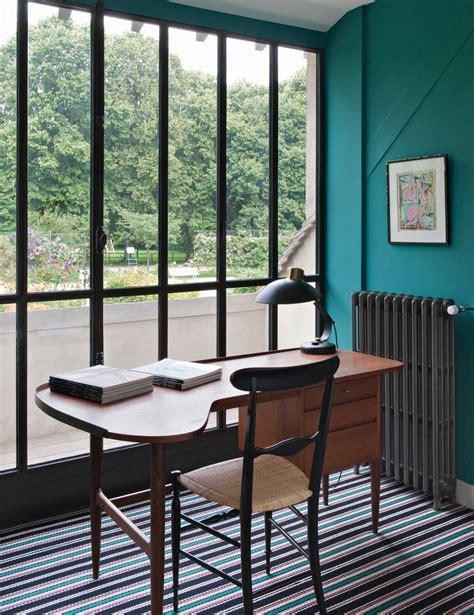 bureau et maison maison de cagne lavoine design colorblock