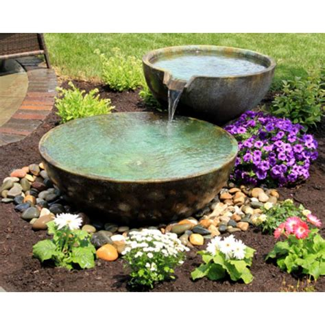 fire fountain by aquascape 174 self contained water and fire