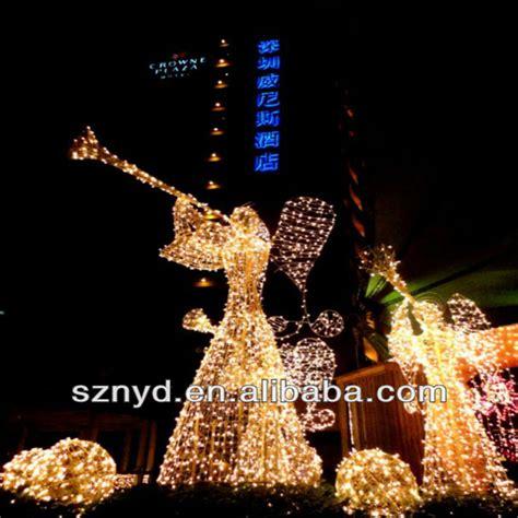 christmas light  led lighted angel outdoor christmas