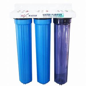 Max Water 3 Stage 20 U0026quot  Whole House Water Filter Gac Cto