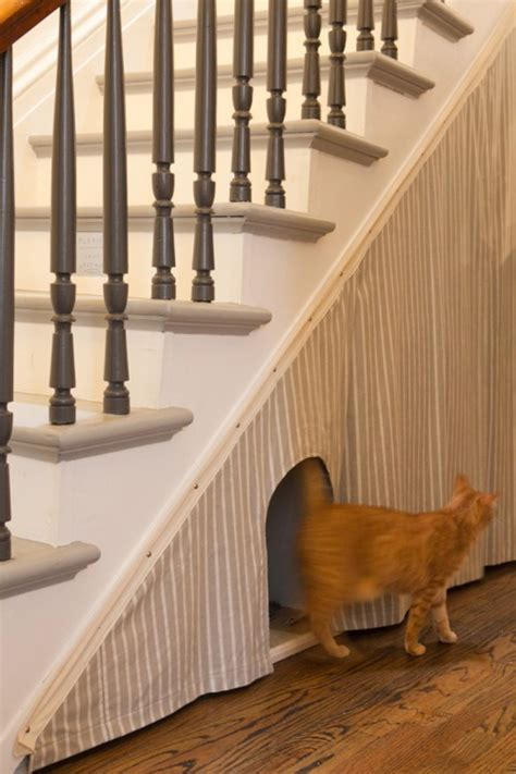 litter box 12 storage ideas for stairs design sponge