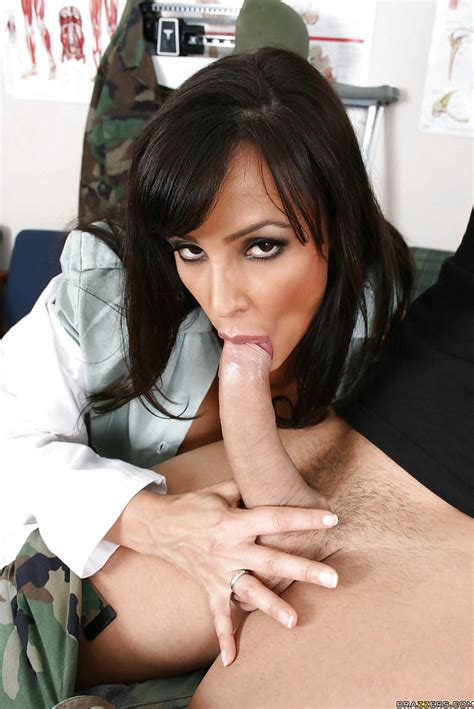 Amazing Milf Lisa Ann With Big Tits Has Hardcore Sex In Uniform