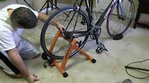 Staionary Bike Stand by Conquer Indoor Bicycle Cycling Trainer Exercise Stand