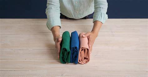 como doblar camisetas  el metodo marie kondo