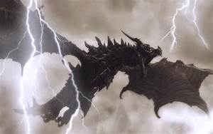 HD Lightning Dragon Wallpaper | Download Free - 113010