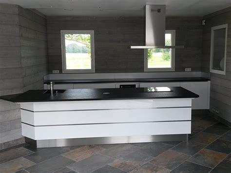 cuisine taupe mat élégance bois artisan créateur cuisine salle de bain