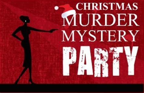 christmas murder mystery party rocket events