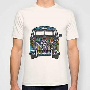 Vw T Shirts : vw bus volkswagen bus surf bus t shirt surf art ~ Jslefanu.com Haus und Dekorationen