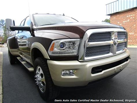 2015 dodge ram 3500 laramie longhorn cummins turbo diesel 4x4 dually cab bed
