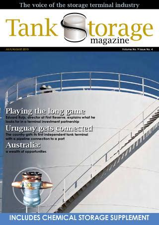 tank storage magazine julyaug   woodcote media