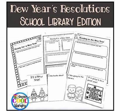 Library Resolutions Edition Lesson Teacherspayteachers Sold Activities