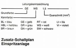 Schaltplan Opel Kadett E