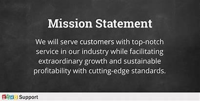 Mission Statement Customer Company Team Culture Organization