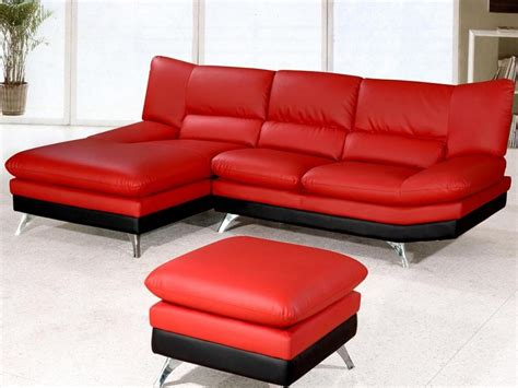 Red Sectional Sofas With Chaise Home Design Ideas