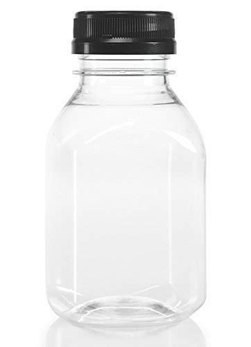 oz clear food grade plastic juice bottles