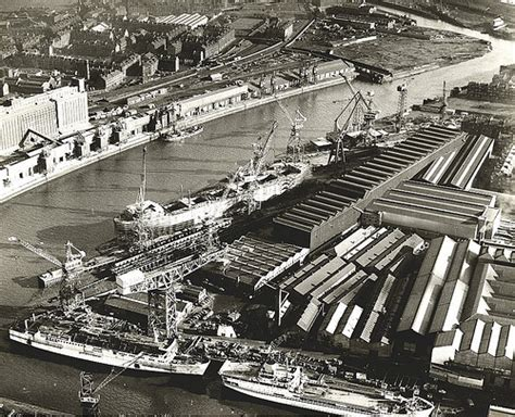 Aerial View Of Fairfield's Yard In The 1960s, With The Tit