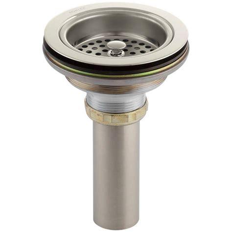 4 1 2 in mesh kitchen sink strainer in stainless steel