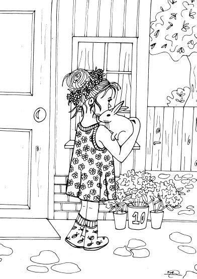 Kleurplaat De Natuur by Kleurplaten Voor Volwassenen En Kinderen Drawing