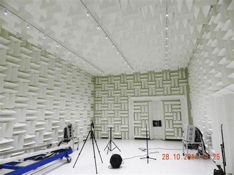 chambre sourde chambre anéchoïque et chambre sourde spectra