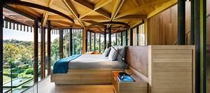 Wood  U0026 Metal Treehouse Is A Modern Gem Nestled Among The Trees