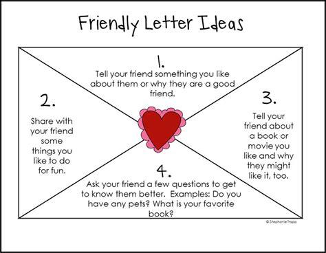 Letter Writing Template For First Grade Erieairfair