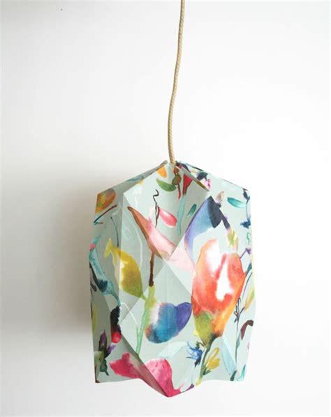 fabriquer un abat jour en papier 1001 projets diy cool pour fabriquer un luminaire origami