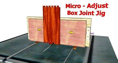 box joint jig  woodworking plans