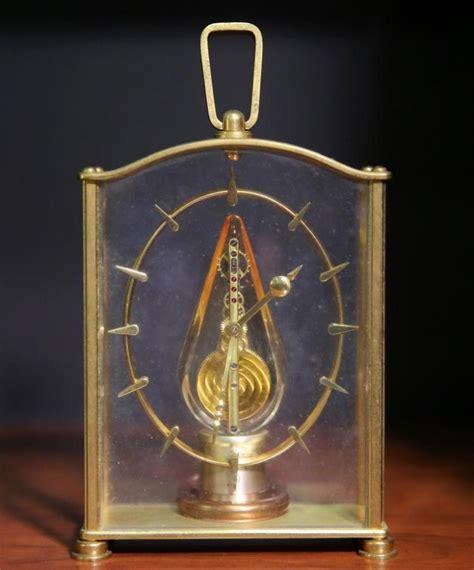 jaeger lecoultre table clock jaeger lecoultre table clock with 8 day baguette movement l