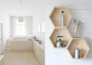 La deco en contreplaque une idee originale et minimaliste for Idee deco cuisine avec lit en bois scandinave