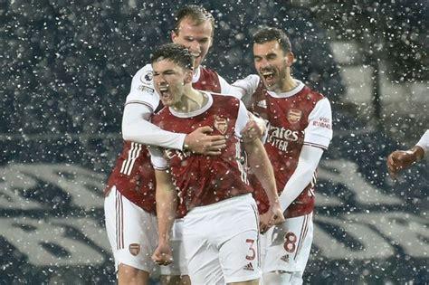 Kieran Tierney bags stunning solo Arsenal goal against ...