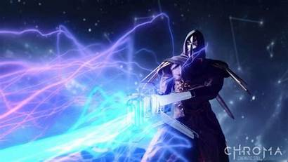 Chroma Rock Fps Warframe Elementos Musicais Mistura