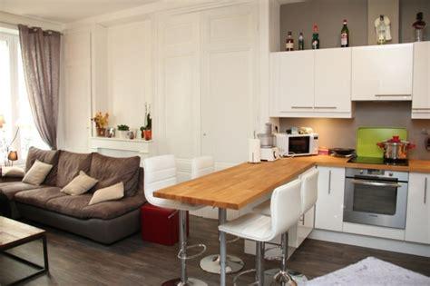 petites cuisines ouvertes cuisine ouverte quelques exemples qui bouillonnent