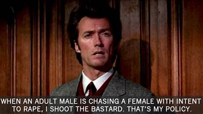 Clint Dirty Harry Eastwood Movies Callahan Quotes