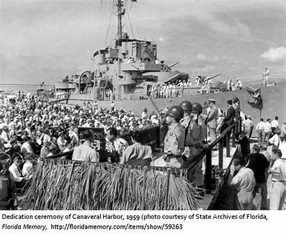 Canaveral History Florida Dedicated Harbor Tags Myfloridahistory