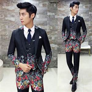 Mens Prom Suits With Pants 3 piece Slim Fit Modern Latest ...