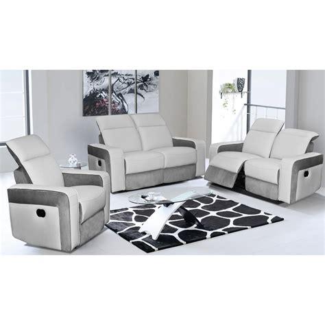 canap駸 fixes 2 places canape 3 places 2 relax maison design wiblia com