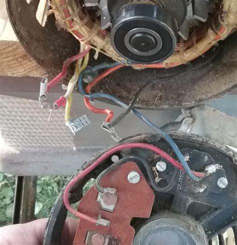 emerson electric motor wiring  doityourselfcom