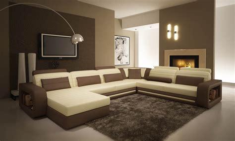 canapé galet chambre marron beige