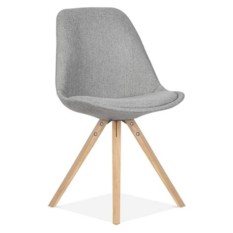 chaise eames grise eames inspired pyramid upholstered dining chair in cool