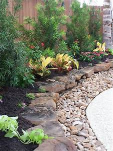 Find out more about Flat rocks with gravel to edge plant