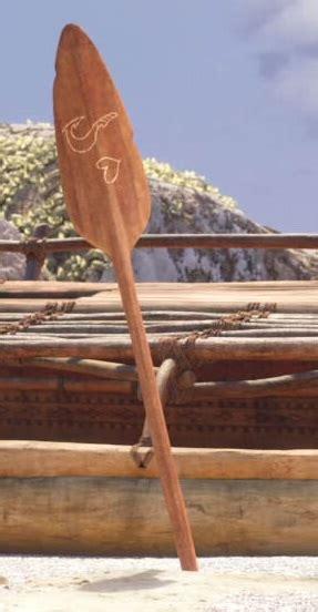 Moana Boat Paddle by Moana S Oar Moana Wikia Fandom Powered By Wikia