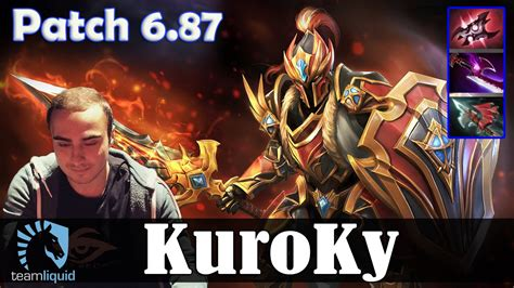 dota 2 patch 6 87 kuroky mid pro mmr gameplay youtube