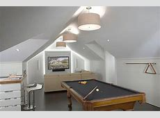 How To Transform Your Attic Into A Fun Game Room