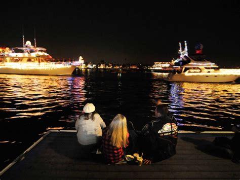 newport light parade cruises photos christmas boat parade lights up newport harbor