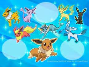 Pokemon Eevee Evolutions
