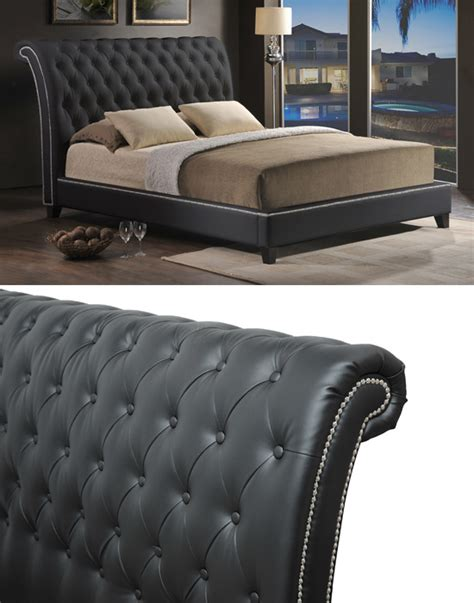 Velvet Headboard King Bed by Modern Upholstered Beds