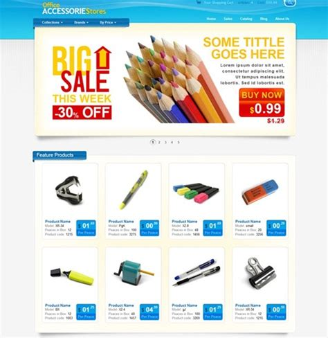 free ecommerce website free ecommerce website templates learnhowtoloseweight net